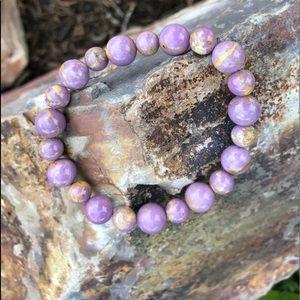 Jewelry - NWT. GENUINE handmade phophosiderite bracelet